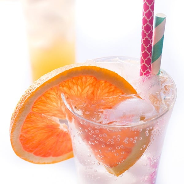 Ginger Citrus Fizz - a fresh and fruity drink recipe