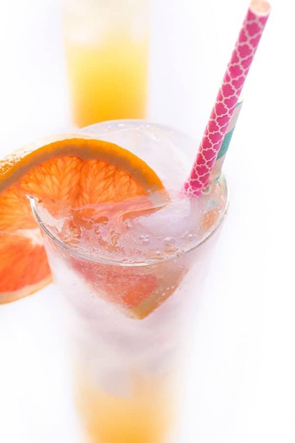 Ginger Orange Spritzer - a fresh and fun drink recipe