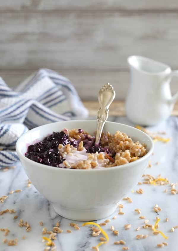 Blueberry-farro-yogurt-bowl-2- Running to the Kitchen