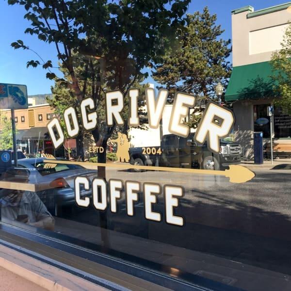 Dog River Coffee in Hood River Oregon
