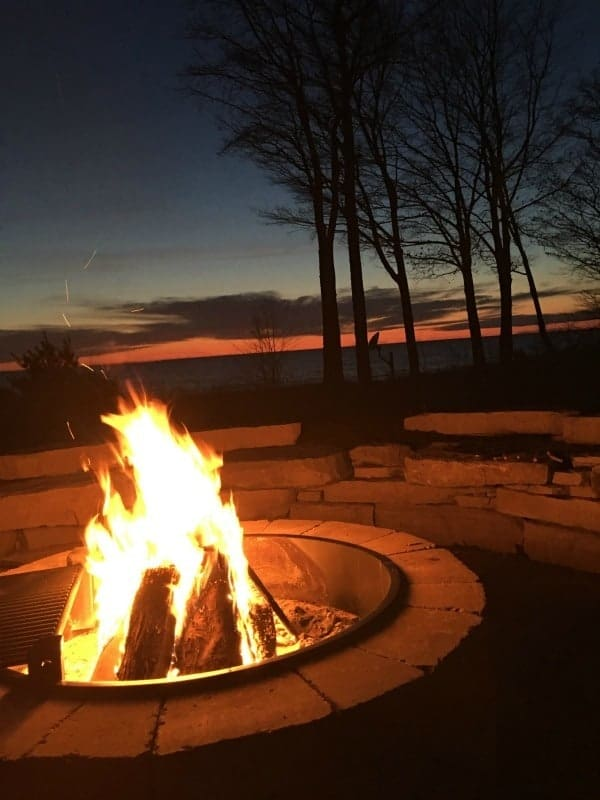 Lake Michigan Fire Pit