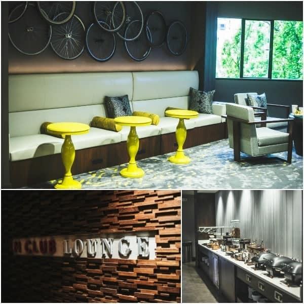 Portland Marriott Waterfront - M Club Lounge