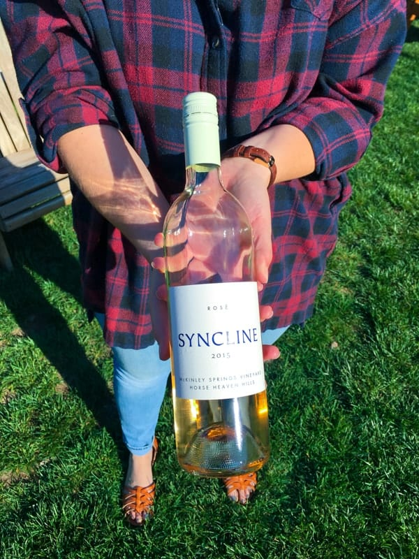 Syncline Winery in Hood River Oregon