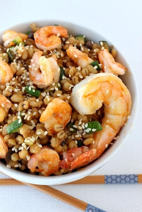 asian-shrimp-barley-bowl-top - Mantitlement