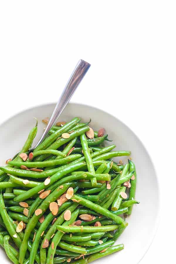 Ginger Sesame Green Beans - a healthy side dish recipe