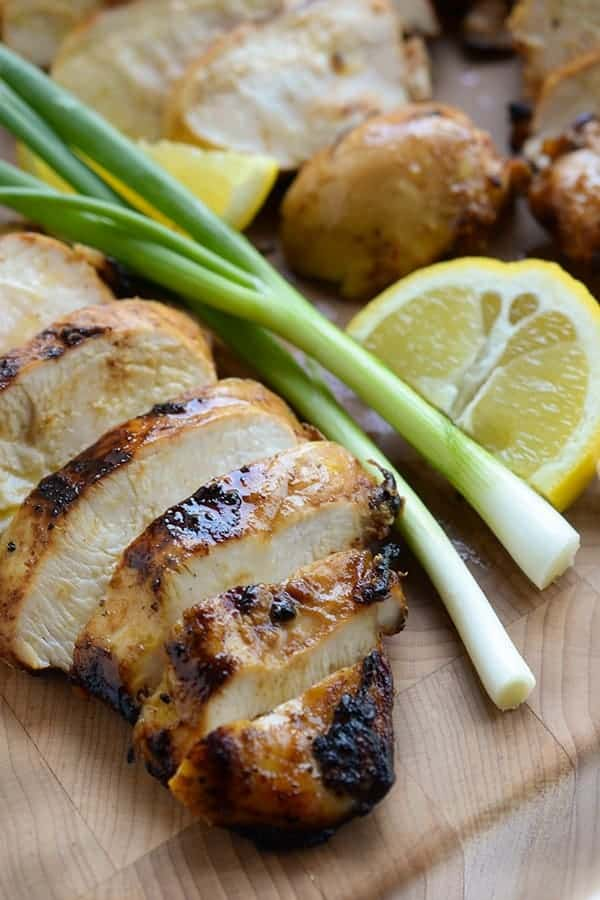 Ginger Teriyaki Grilled Chicken Breasts