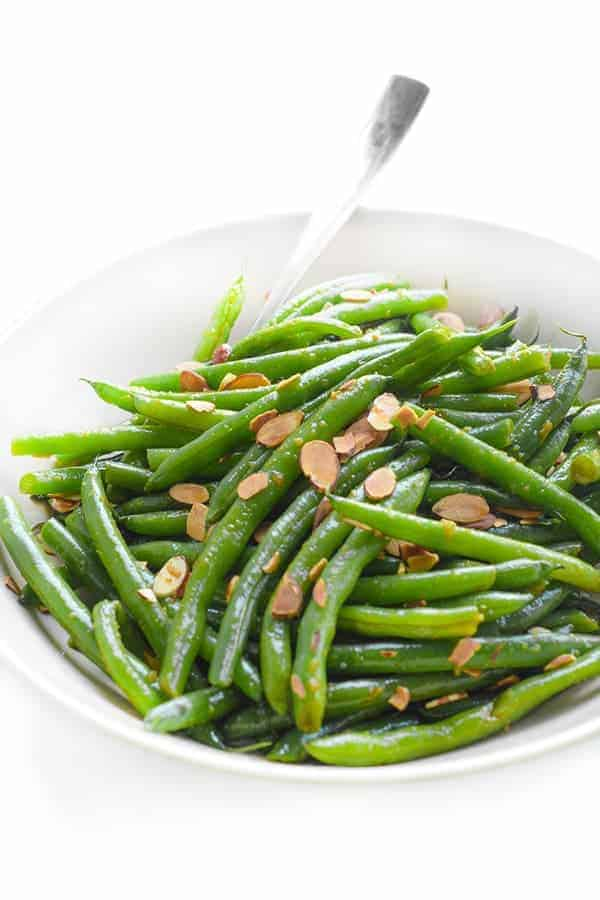 Sesame Ginger Green Beans - a fast side dish recipe