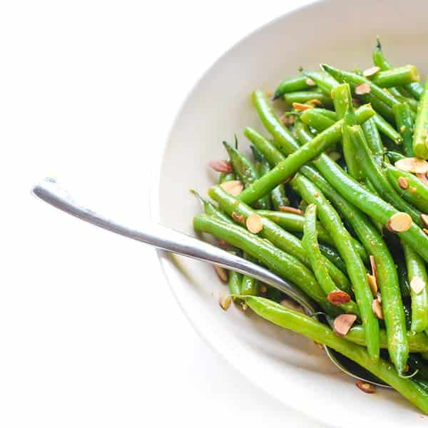 Sesame Ginger Green Beans - a quick Asian side dish recipe