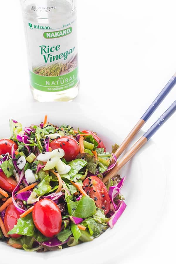 Ginger Salad Dressing - an easy Japanese recipe