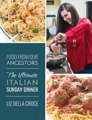 Italian Dinner Cookbook Cover