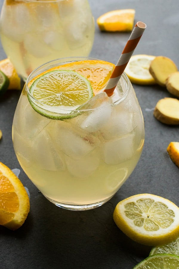 White Wine Sangria - a refreshing summer drink recipe