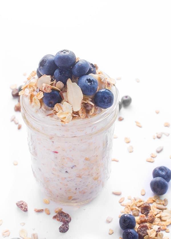 Bircher Muesli - an easy make-ahead breakfast recipe