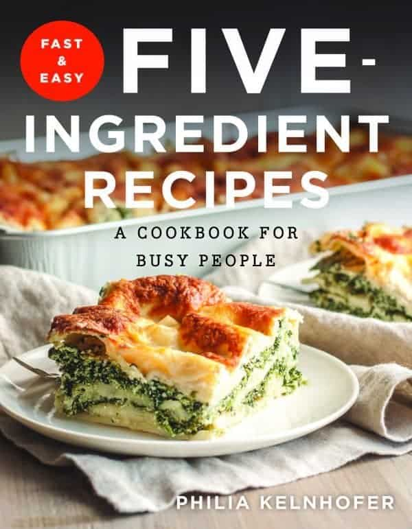 Fast & Easy Five-Ingredient Recipes cover image