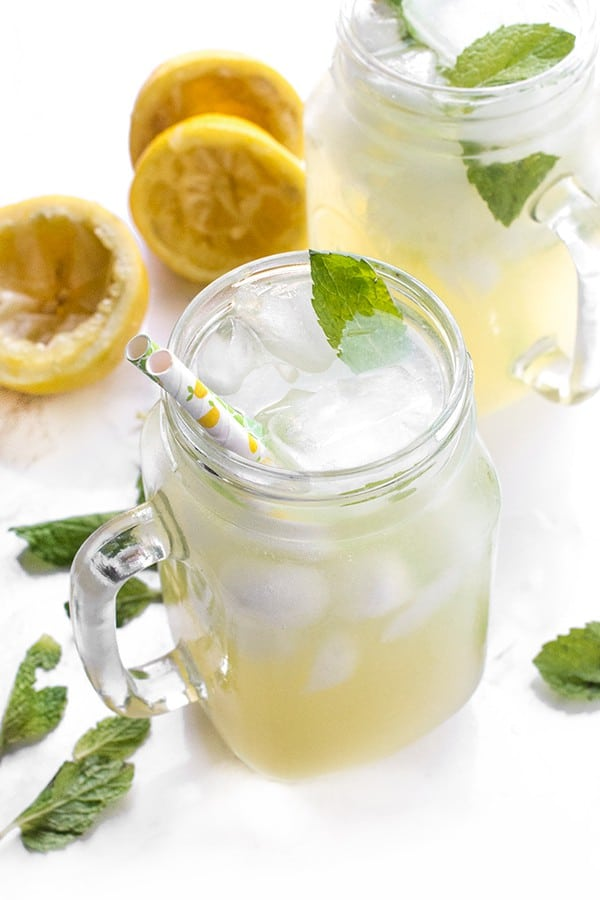 Orange Blossom Lemonade - a refreshing drink recipe