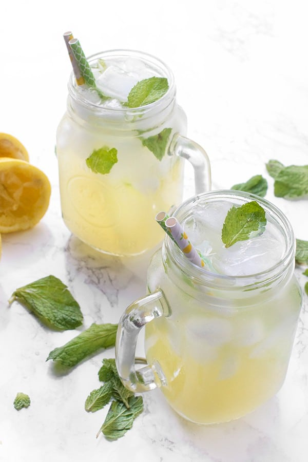 Orange Blossom Lemonade - an easy drink recipe
