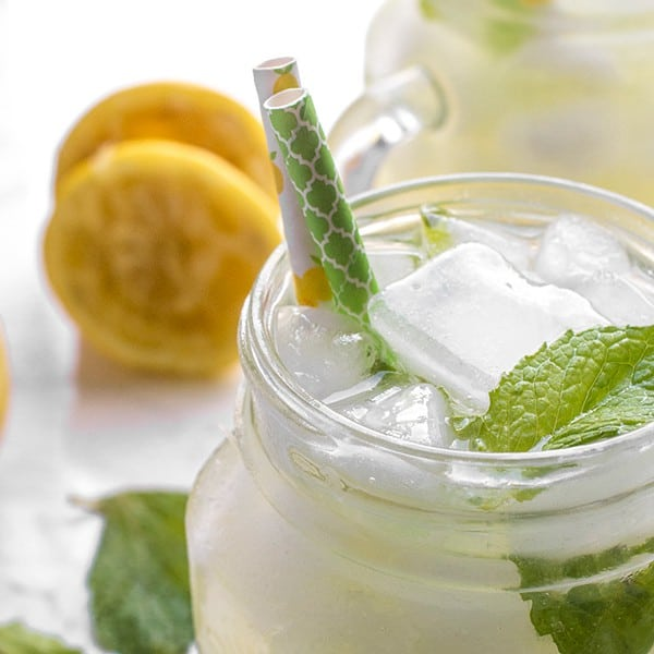 Orange Blossom Lemonade - the perfect summer drink recipe