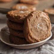 Peanut Butter Sea Salt Cookies image- Philia Kelnhofer