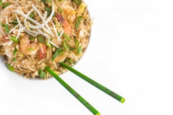 Shrimp Pad Thai - a fast and easy weeknight dinner recipe