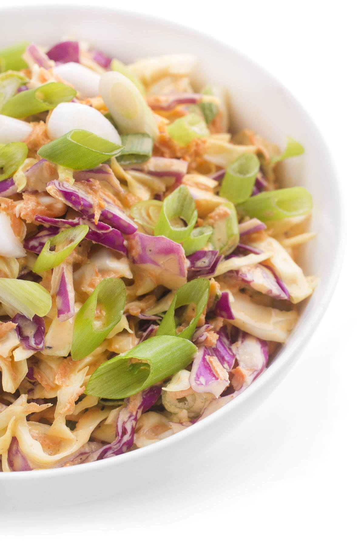 Spicy Asian Cole Slaw