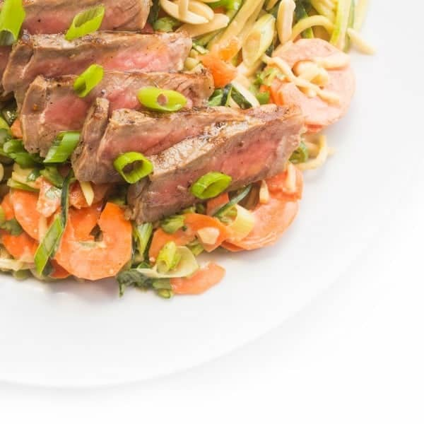 Thai Steak Salad with Asian Dressing