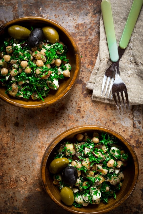 mediterranean-eggplant-chickpea-salad-feta-parsley