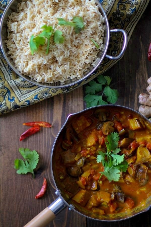 roasted-eggplant-and-mushroom-curry