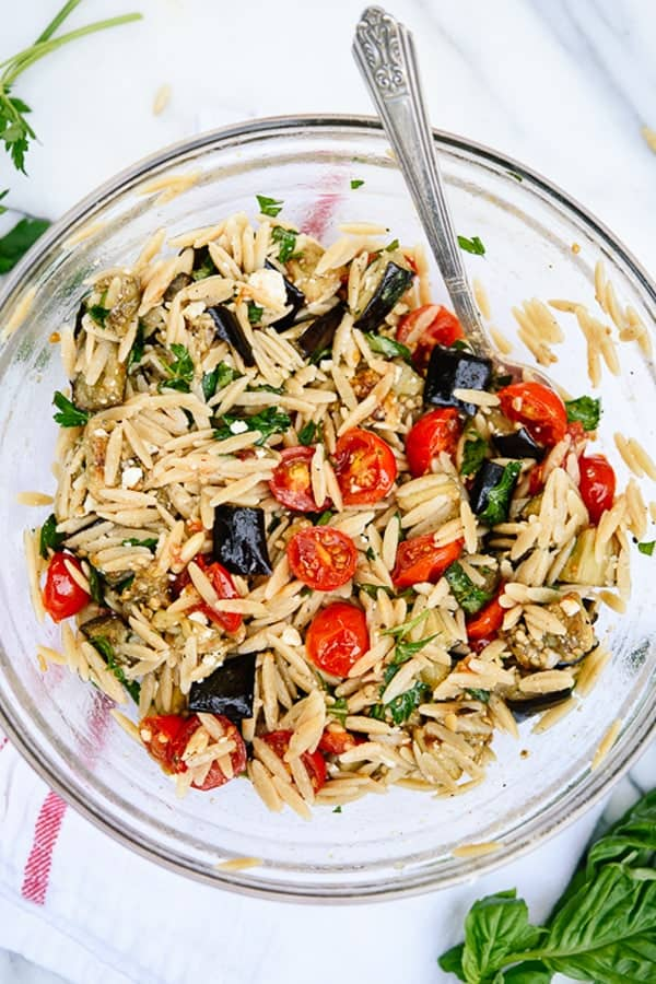 roasted-eggplant-tomato-orzo-pasta-recipe