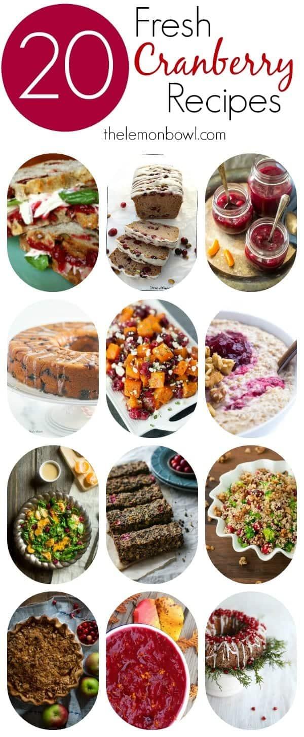 20-fresh-cranberry-recipes