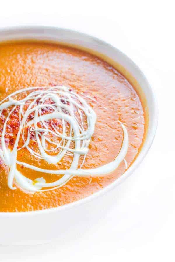 Crock-Pot® Slow Cooker Butternut Squash Soup
