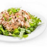 Asian Chicken Salad Recipe - a healthy low carb gluten free salad