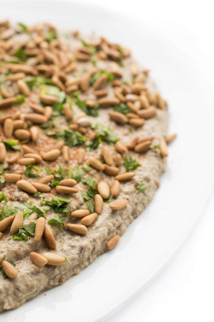 Baba Ganoush an eggpant dip recipe