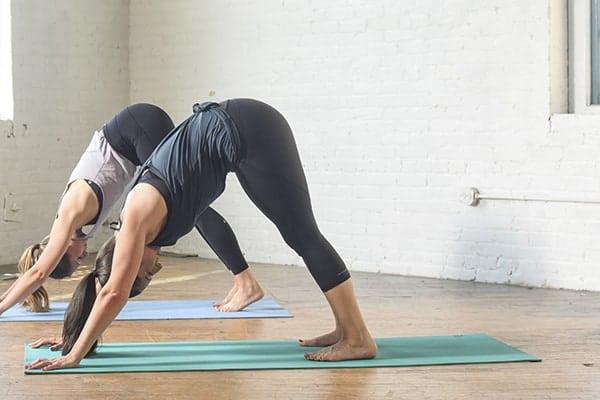Liz Performing Yoga