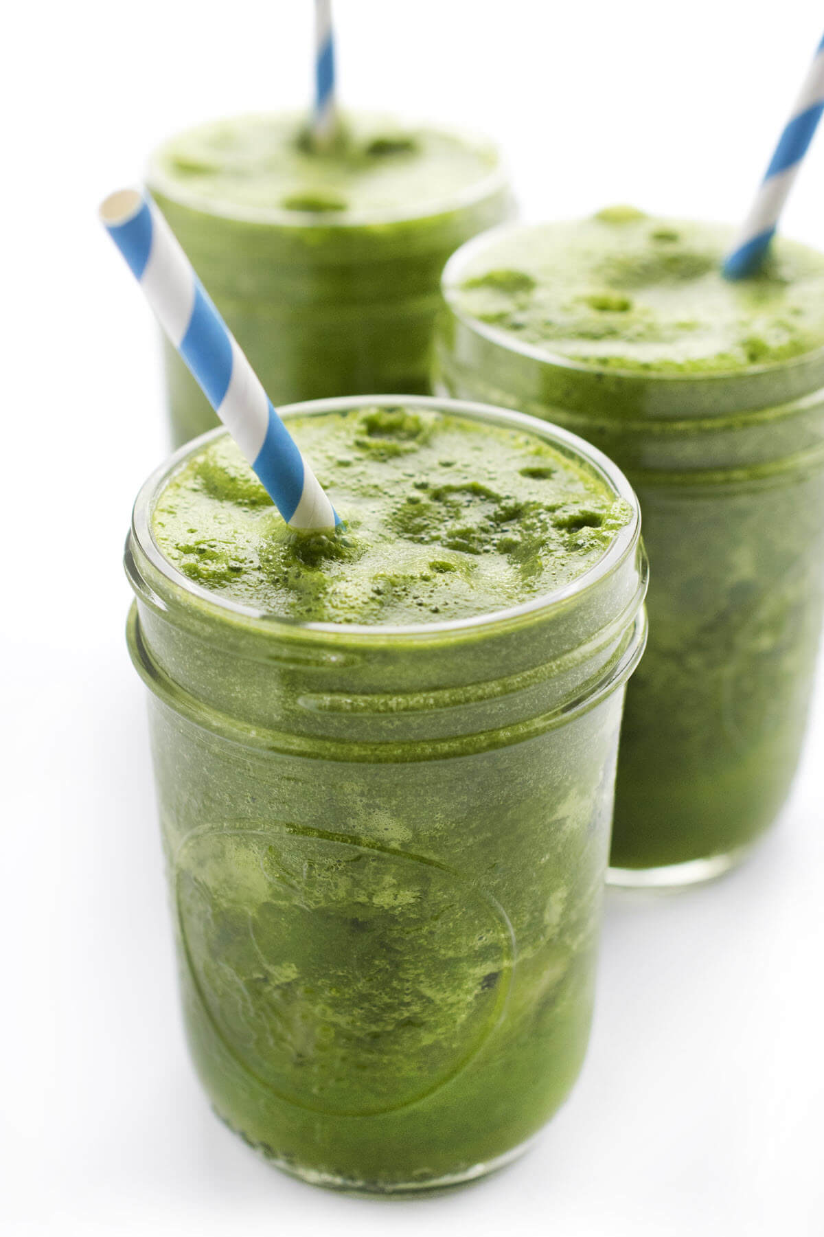 Green Smoothie recipe in a glass