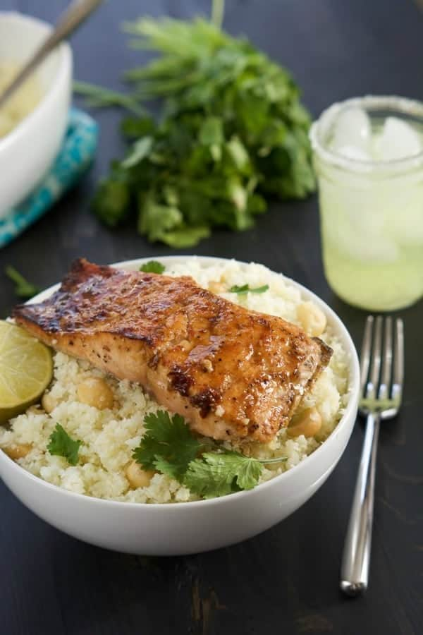 Agave chipotle salmon