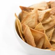 Baked Corn Tortilla Chips - a healthy snack recipe