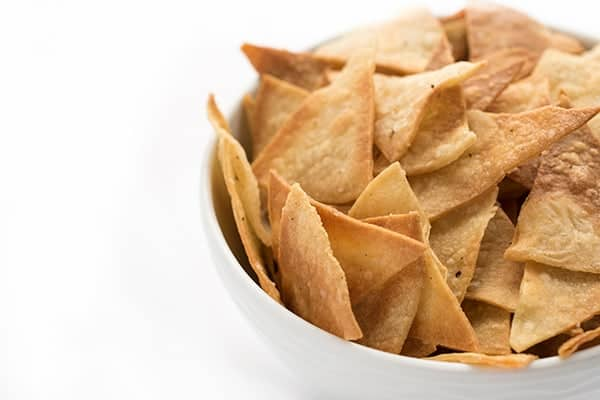 How to make tortilla chips out of tortillas in the oven