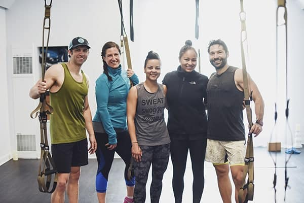 Higher Ground TRX Class Members New Orleans
