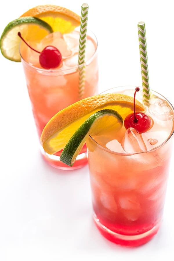 New Orleans Hurricane Cocktail The Lemon Bowl