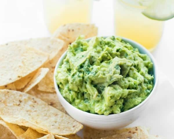 Guacamole Recipe - easy five ingredient appetizer