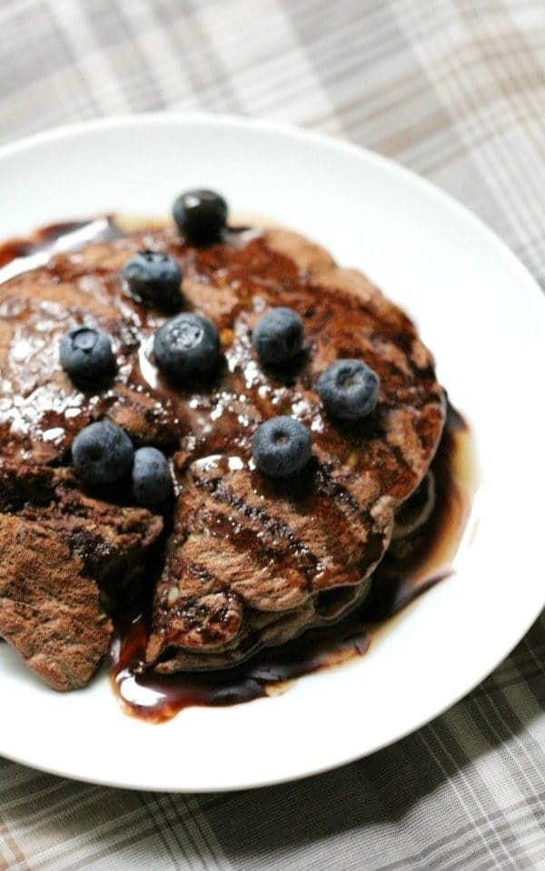 Chocolate-Zucchini-Pancakes-With-Blueberries-7-e1442663566436