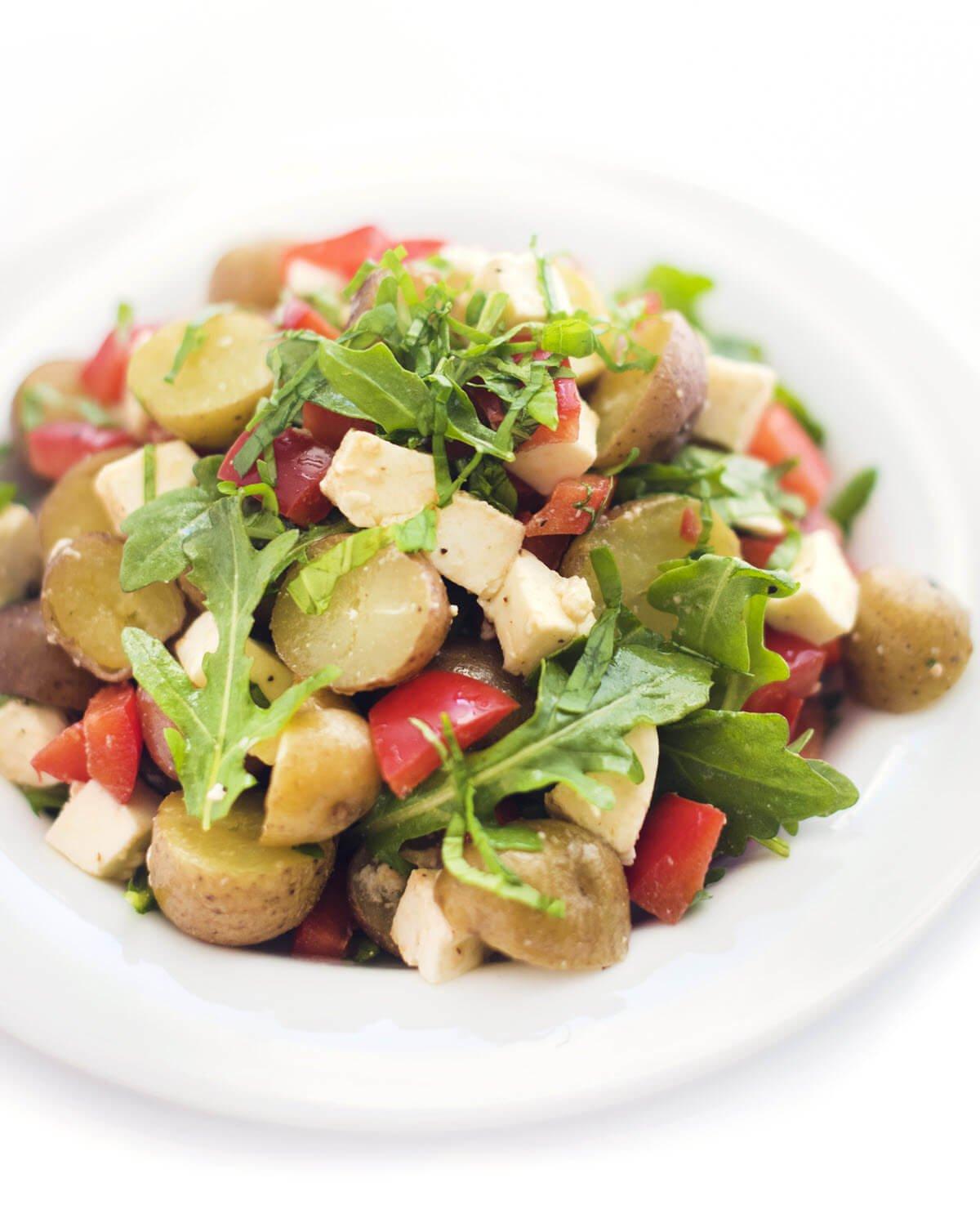 caprese potato salad