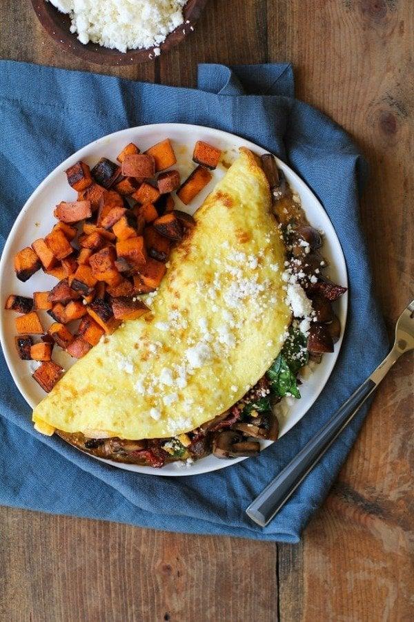 spinach_mushroom_sun_dried_tomato_omega_3_omelet_1