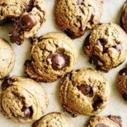 Peanut Butter Chocolate Chip Cookies - gluten free recipe