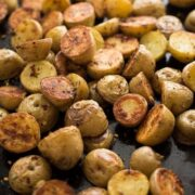 Rosemary Roasted Potatoes - an easy side dish recipe