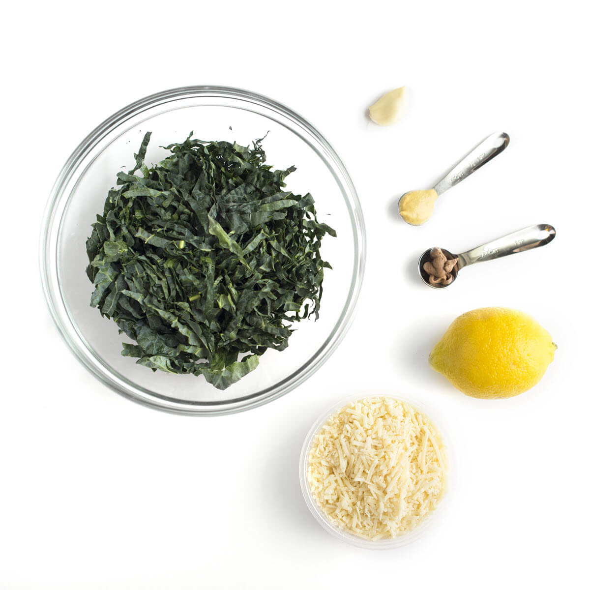Kale Caesar Salad Ingredients
