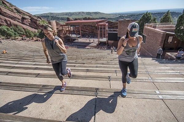 Red Rocks Amphitheater - Workout Routine