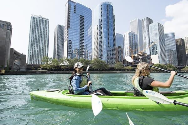 Urban Kayaking Chicago