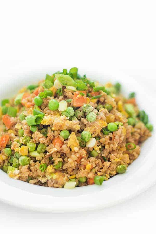 Cauliflower Vegetable Fried Rice