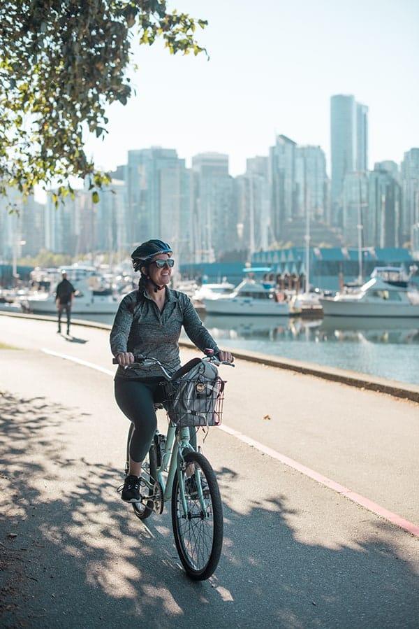 Biking Vancouver Seawall