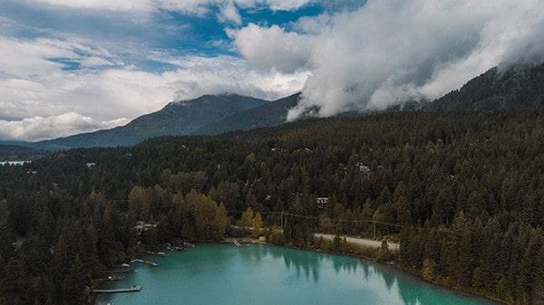 Whistler Green Lake Photo
